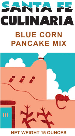 Plain Blue Corn Pancake Mix