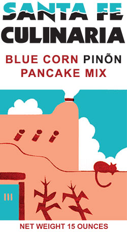 Blue Corn Piñon Pancake Mix