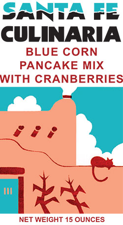 Blue Corn Pancake Mix With Cranberries